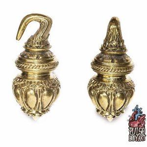 Peso Pendulo de Orelha, feito em cobre, para alargar orelha.